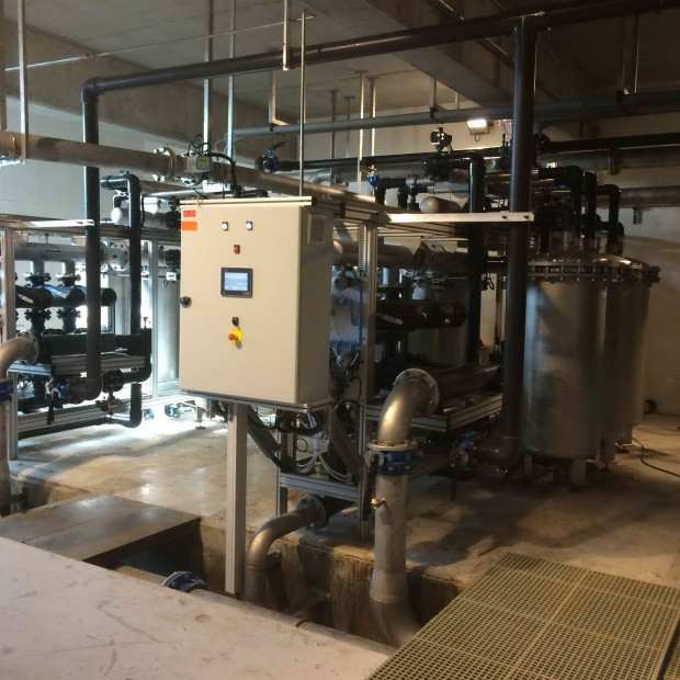 Potabilisation par ultrafiltration - usine de Vaujany