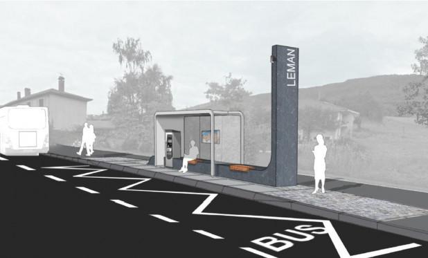 Création d'un Transport à Haut Niveau de Service entre Genève et Thonon – sur 19km – 22,2 M€