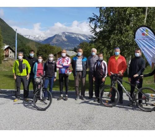 Un nouvel itinéraire Cyclable de 157 km en Maurienne de Aiton à Bonneval sur Arc